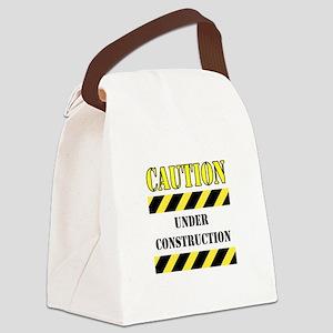 UNER CONSTRUCTION Canvas Lunch Bag