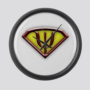 superman copy Large Wall Clock
