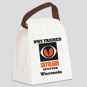 NWS-Trained_SW-State-Wisconsin Canvas Lunch Bag