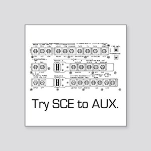 Try Sce To Aux. Sticker