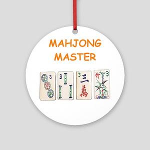 MAHJONG Ornament (Round)