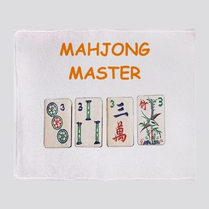 MAHJONG Throw Blanket