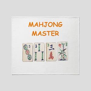 MAHJONG Throw Blanket
