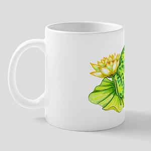 Frog On Lily Pad Mug