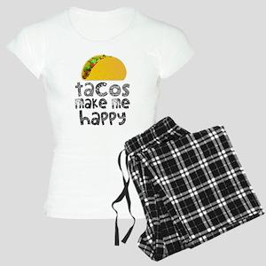 Tacos Make Me Happy Pajamas