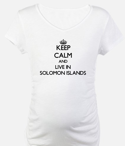 Keep Calm and Live In Solomon Islands Shirt