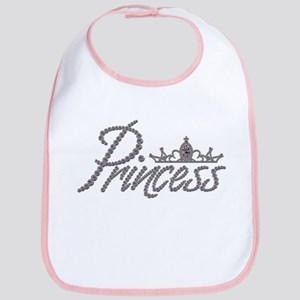 Diamond Princess and Tiara Bib