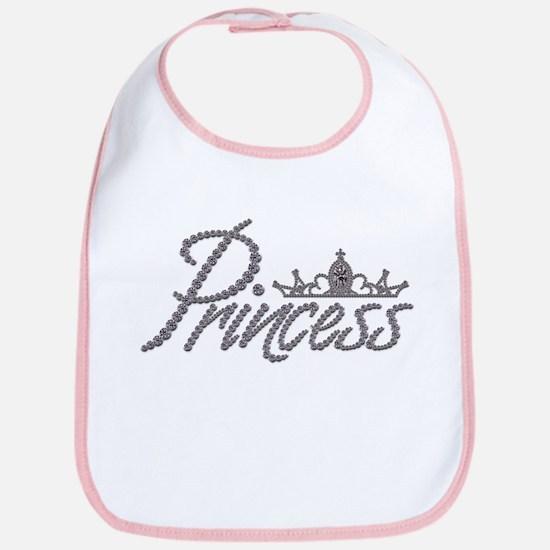Diamond Princess and Tiara Bib