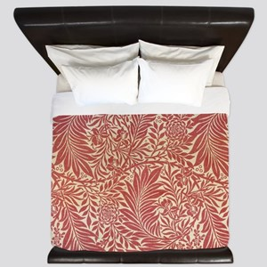 William Morris Larkspur design King Duvet