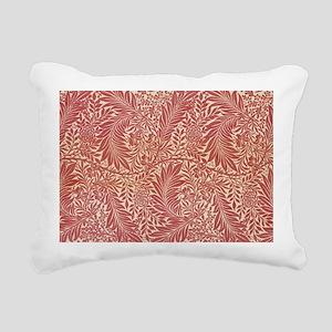William Morris Larkspur  Rectangular Canvas Pillow