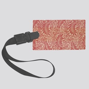 William Morris Larkspur design Large Luggage Tag