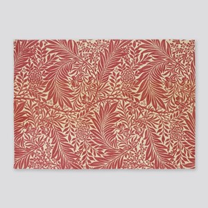 William Morris Larkspur design 5'x7'Area Rug