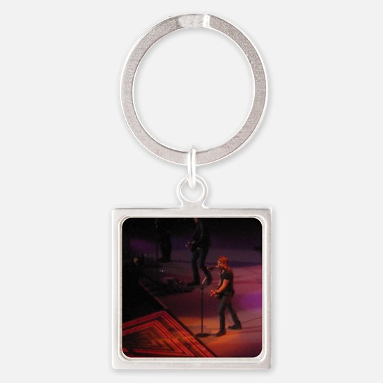 Keith Urban Square Keychain