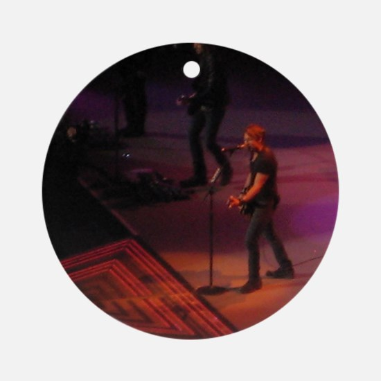 Keith Urban Round Ornament