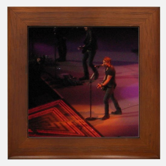 Keith Urban Framed Tile