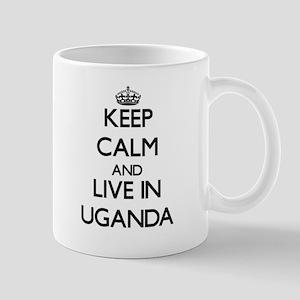 Keep Calm and Live In Uganda Mugs