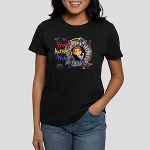 Autism Rosie Cartoon 1.1 Women's Dark T-Shirt