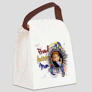 Autism Rosie Cartoon 1.1 Canvas Lunch Bag