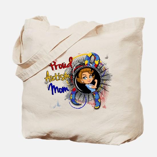 Autism Rosie Cartoon 1.1 Tote Bag