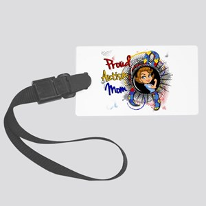 Autism Rosie Cartoon 1.1 Large Luggage Tag