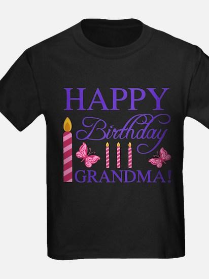 Happy Birthday Grandma T-Shirt