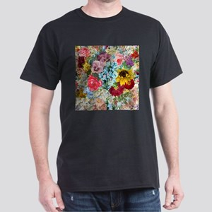 Colorful Flower pattern T-Shirt