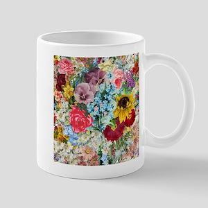 Colorful Flower pattern Mugs