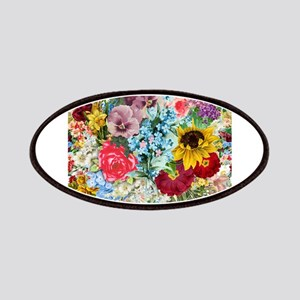 Colorful Flower pattern Patches