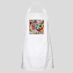 Colorful Flower pattern Apron