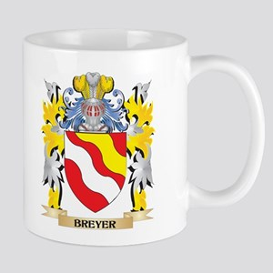 Breyer Coat of Arms - Family Crest Mugs