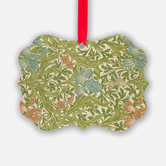 Willliam Morris Iris Pattern Ornament