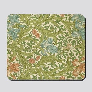 Willliam Morris Iris Pattern Mousepad