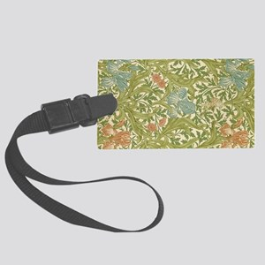 Willliam Morris Iris Pattern Large Luggage Tag