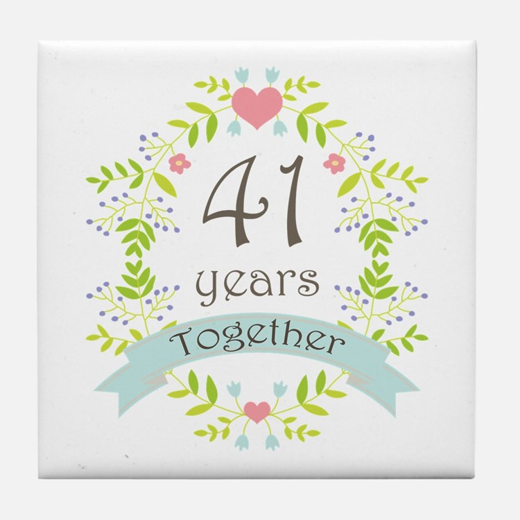 41st Wedding Anniversary Deweddingjpg Com