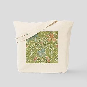 William Morris Iris Design Tote Bag