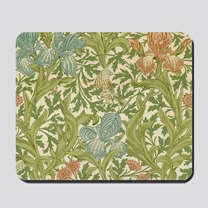 William Morris Iris Design Mousepad