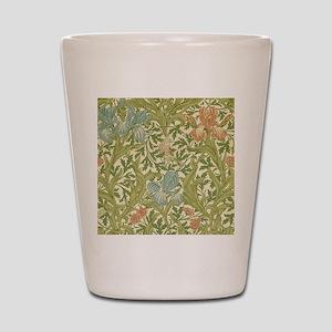 William Morris Iris Design Shot Glass