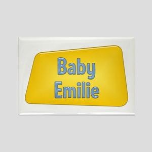 Baby Emilie Rectangle Magnet