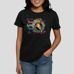 Autism Rosie Cartoon 1.2 Women's Dark T-Shirt