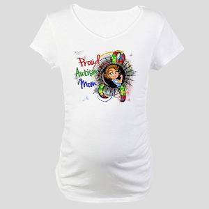 Autism Rosie Cartoon 1.2 Maternity T-Shirt
