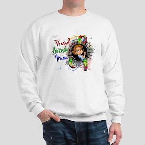 Autism Rosie Cartoon 1.2 Sweatshirt