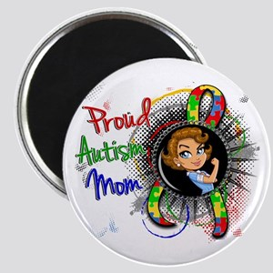 Autism Rosie Cartoon 1.2 Magnet