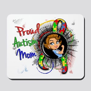 Autism Rosie Cartoon 1.2 Mousepad