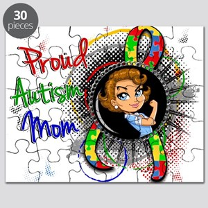 Autism Rosie Cartoon 1.2 Puzzle