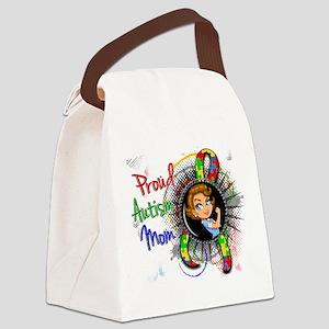 Autism Rosie Cartoon 1.2 Canvas Lunch Bag