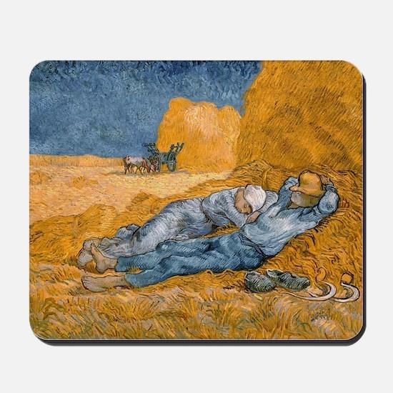 Van Gogh The Siesta Mousepad