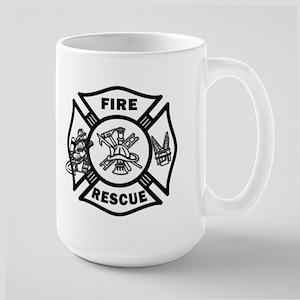 Fire Rescue Large Mug