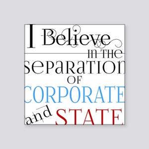Separate Corporate From State Sticker