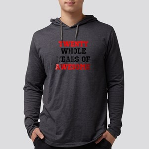 Whole Years of Awesome Mens Hooded Shirt