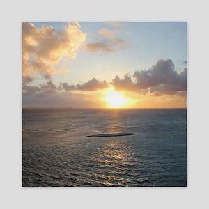 Aruba Sunset Queen Duvet